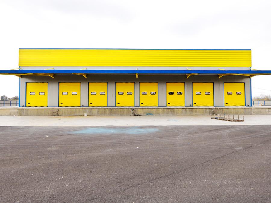 Πόρτες Βιομηχανίας 1 - Πλατής