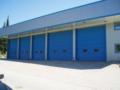 Πόρτες Βιομηχανίας 6 - Πλατής